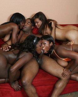 Black depraved woman Rayne Falls has..