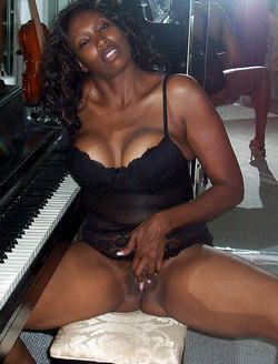 Passionate busty ebony lady collection..