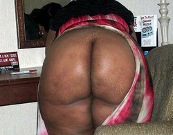 Sweet ebony asses of our wives on this..