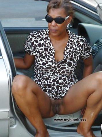 Ebony nudists