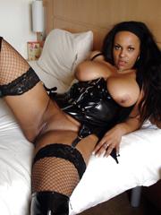 Big breasted nude black women