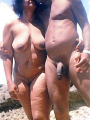 Married black nude woman